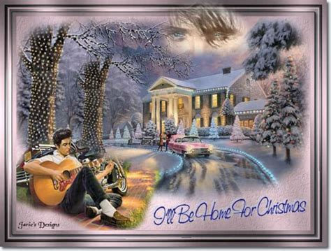i ll be home for christmas by elvis presley elvis