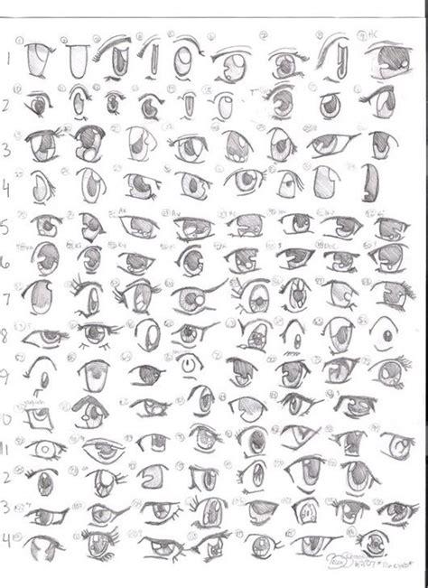 tutorial menggambar conan c 225 c kiểu mắt trong anime manga v 224 những c 225 ch vẽ cực đơn