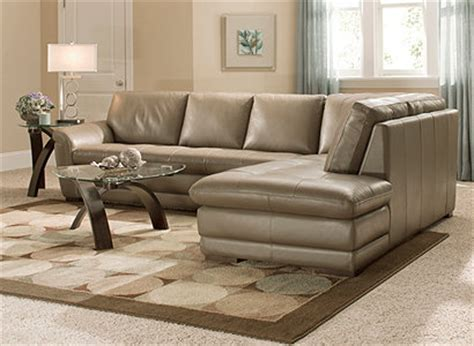 garrison 2 pc leather sectional sofa raymour and flanigan leather sectional sofa refil sofa
