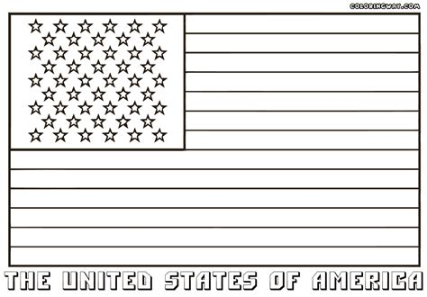 pages american flag ausmalbild flagge des kosovo coloring page american flag