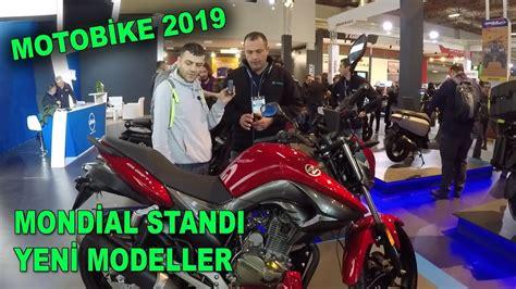 mondial standi  yeni model motobike motosiklet fuari