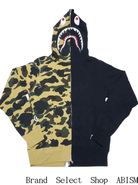 Half Camo Bape brand select shop abism rakuten global market a bathing