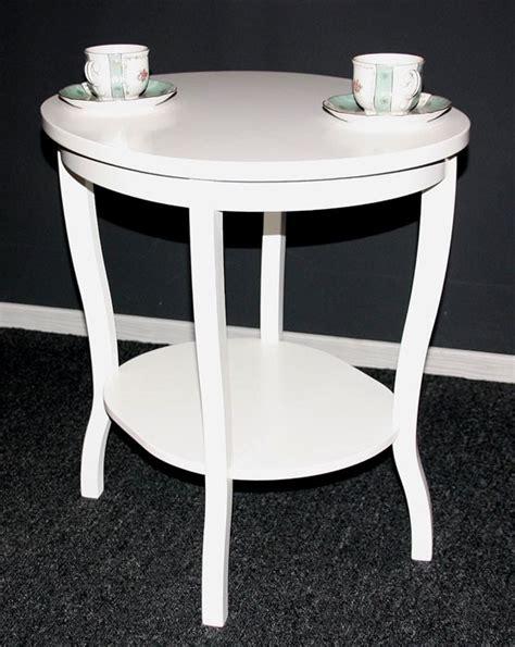 Konsolentisch Holz Weiß by Beistelltisch Oval