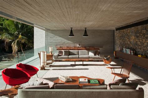 modern beach homes modern beach house on the brazilian coast idesignarch