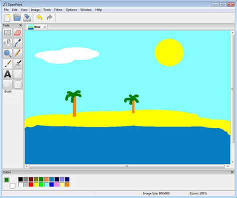 painting for windows 7 openpaint