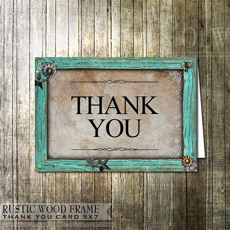 free printable rustic thank you cards rustic thank you card rustic wood embellishments