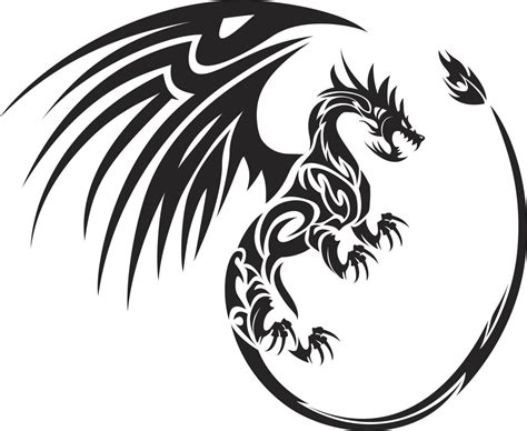 tribal dragon tattoos meaning you ll want to read these meanings of a for sure