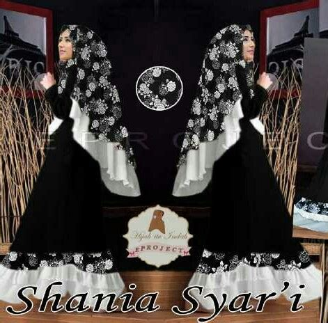 Shania Gamis gamis modern shania syari a172 baju muslim terbaru