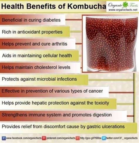 Detox For Arthritis Relief by Health Benefits Of Kombucha Tea Are Many Ranging From