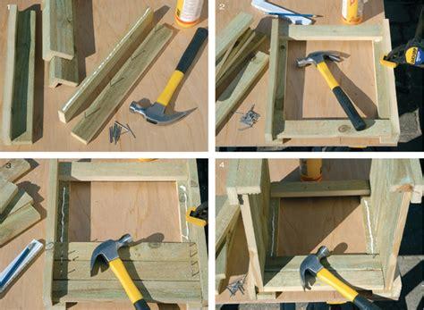 costruire vasi in cemento fioriere in legno fai da te veloci da realizzare