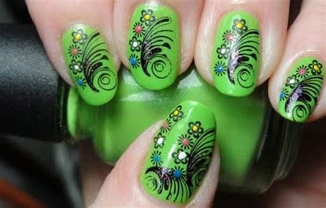 imagenes de uñas decoradas con verde u 241 as decoradas color verde u 241 asdecoradas club