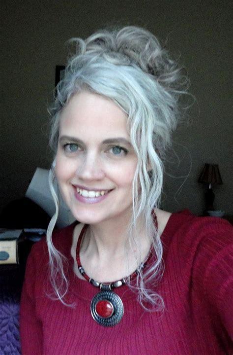 young with gray hair long gray hair gray hair grey hair silver hair cabelo