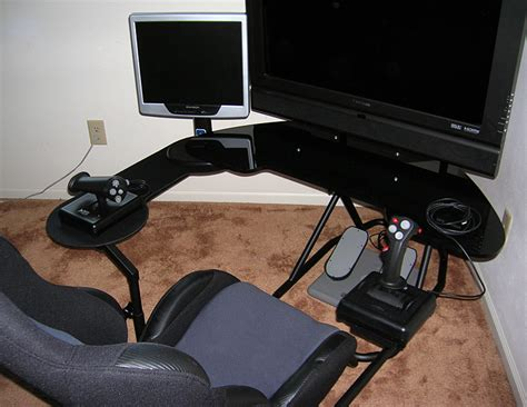 gaming setup simulator obutto ozone gaming cockpit page 6 simhq
