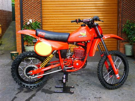twinshock motocross bikes for honda 250cr 1980 motocross bike twinshock ebay moto