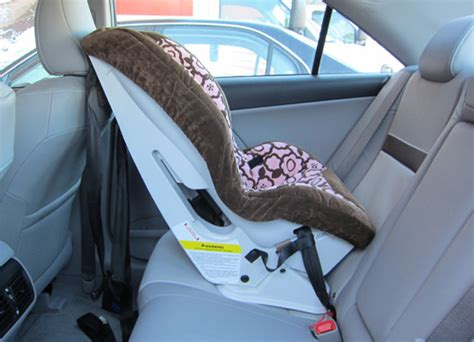 car seat install station ironically prius is better than prius v for large rear