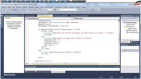 tutorial visual basic y mysql 04 conectar visual basic net y base de datos de mysql