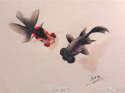 imagenes muy realistas un joven pinta peces muy realistas con l 225 pices de colores 3