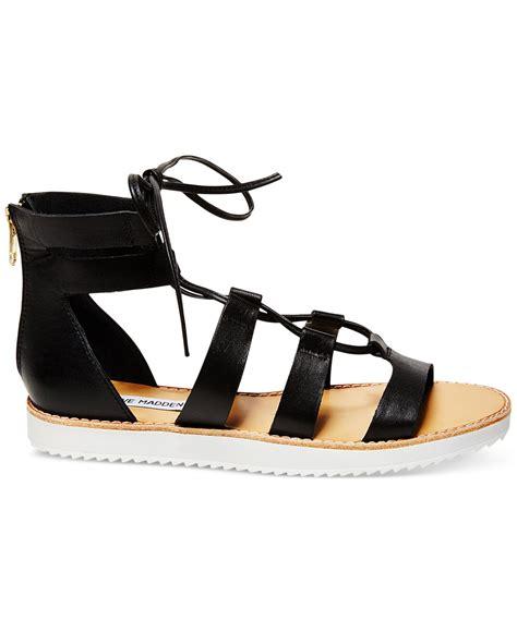 steve madden lace up sandals steve madden s marvell lace up gladiator sandals in