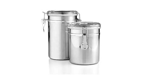 martha stewart kitchen canisters martha stewart essentials food storage canisters 2 pk