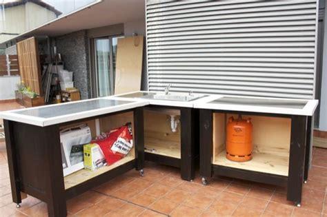 ikea outdoor kitchen outdoor kitchen in progress using ikea components not