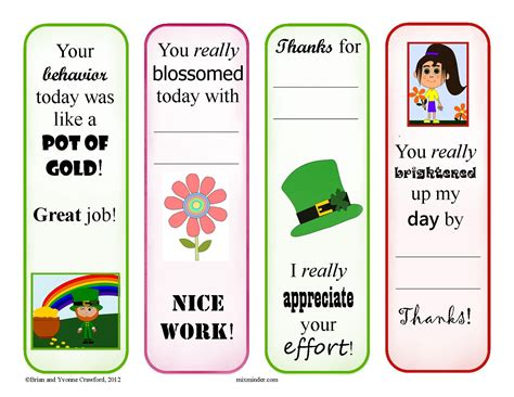 printable reward bookmarks search results for reading bookmarks for students to