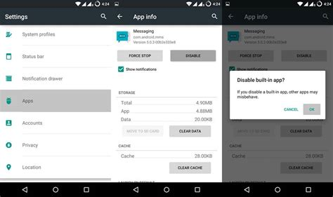 disable android apps how to disable bloat apps on android devices without root