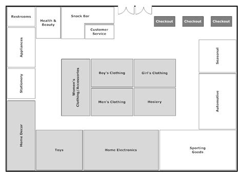 floor plan store retail shop floor plan google search retail design