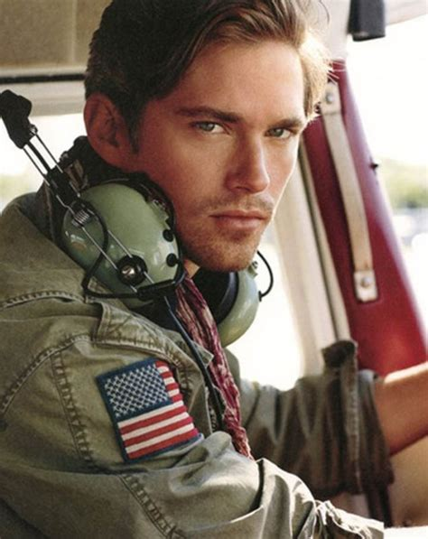 what attractive to marines brown hair blue eyes pilot characters male pinterest