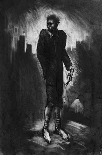 Modern Drawing Of Spring Heeled Jack By Kain White | modern monsters a dossier of modern day mystery