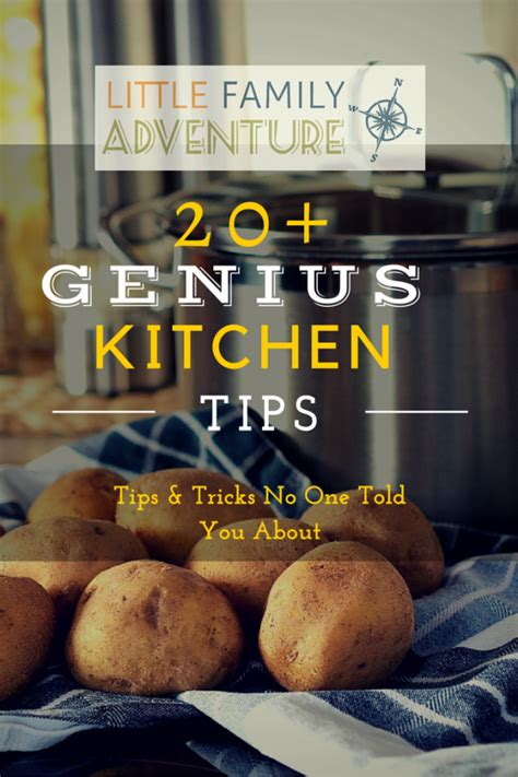 genius kitchen 20 genius kitchen tips and tricks little family adventure