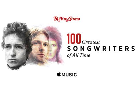 100 best of all time rolling list top 100 songwriters of all time
