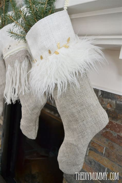 pattern for burlap christmas stockings burlap christmas ornament patterns the diy mommy autos post