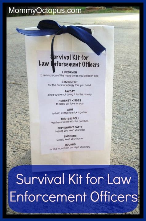 Gifts For Officers by Survival Kit For Enforcement Officers Sheriff