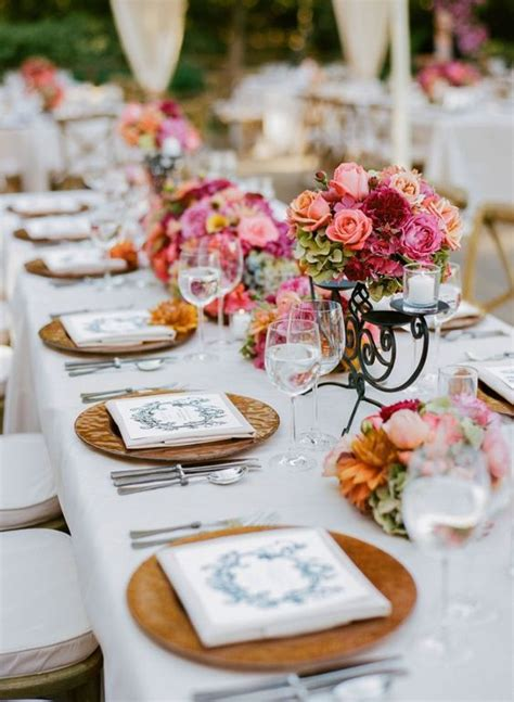 rustic wedding round table settings elegant 15 best s white table