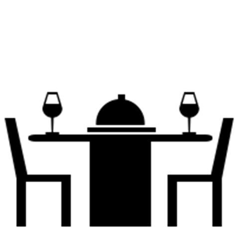 White Livingroom by Dining Table Icons Noun Project