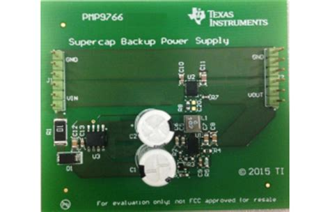 supercapacitor balance lp2998 1 5a ddr termination regulator with shutdown pin ti