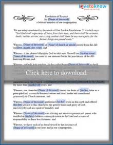 funeral resolution template church funeral resolution template buy baptist church