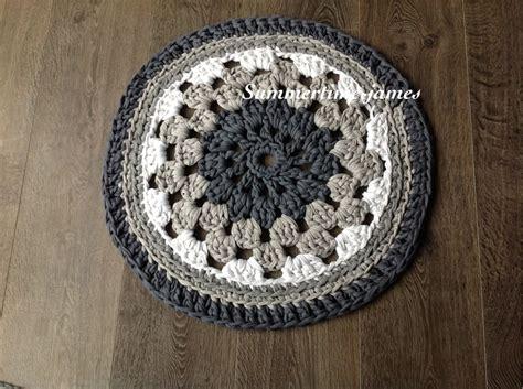 alfombra redonda de trapillo alfombra redonda con trapillo trapillo