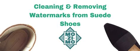cleaning removing watermarks from suede shoes mozimo