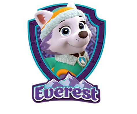 paw patrol everest printable google sophie 2nd bday paw patrol