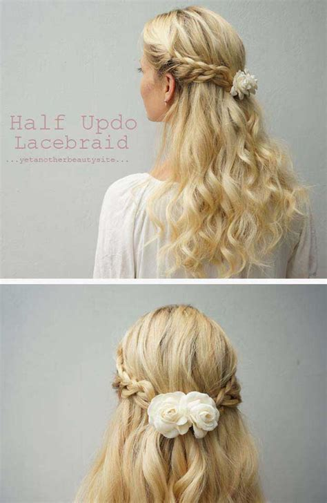half updo bun hairstyles 31 amazing half up half down hairstyles for long hair