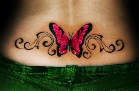 Sexy Lower Back Tattoos For Girls To Make Their Rear Look Lower Back Tattoos 2