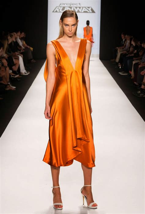 Pusat Grosir Baju Luxury Dress 2 Orange Skin orange frocks dress design 2540 fashion designer
