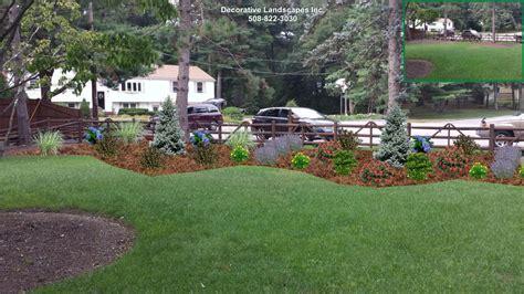 Landscape Design Northton Ma Front Yard Landscape Design Madecorative Landscapes Inc