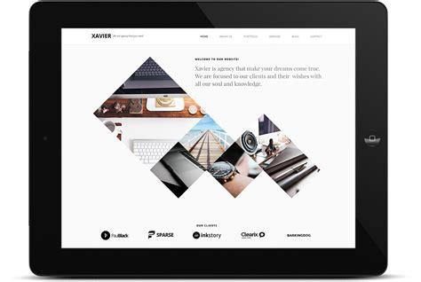 themeforest xavier id5 advertising branding best advertising agency in