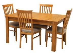 tables and chairs american style dining room with solid