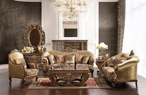 Style Living Room Set by Luxurious Traditional Style Formal Living Room Furniture