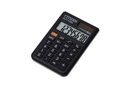 Kalkulator Saku Pocket Citizen Sld 100n jual citizen sld 100n jual citizen pocket sld 100n di kalkulator grosir