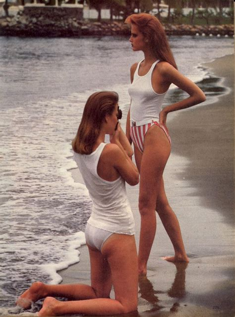 Pleasures Of The Warmer Weather by Us Vogue December 1980 Uncomplicated Pleasures The Start