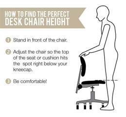 Chair Height For 31 Desk Ergonomic Office Ink